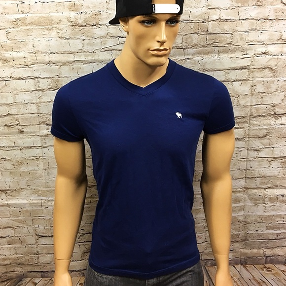 8736d2c3 Abercrombie & Fitch Other - Men's AF Abercrombie Moose Muscle Fit V T Shirt  S